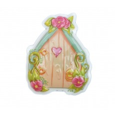 Fairy Door Peach and Green
