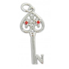 Small Key with letter N