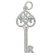 Small Key with letter R