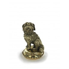 Antique Gold Greyfriars Bobby