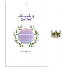 A Keepsake of Scotland  (lilac tartan)