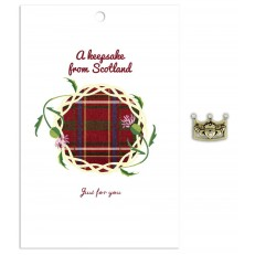 A Keepsake of Scotland (red tartan)