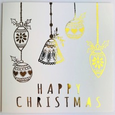 Happy Christmas (Christmas Baubles)